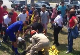 Senador Romário se envolve em acidente na Barra da Tijuca