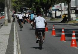 Semob-JP suspende operação da ciclofaixa de lazer nos dois próximos domingos