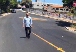 AÇÃO ASFALTO: Cartaxo vistoria obras e prevê mais investimentos para João Pessoa