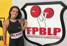 Atleta vence Campeonato Paraibano e garante vaga no Campeonato Brasileiro de Levantamento de Pesos
