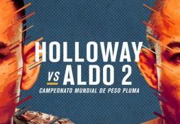 Em sites de apostas, José Aldo é maior zebra do card principal do UFC 218