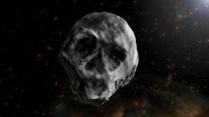 asteoroideumbbc 300x169 - Estranho asteroide em forma de caveira vai voltar a passar perto da Terra em 2018