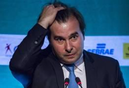 Rodrigo Maia cogita possibilidade de desistir de disputa pela presidência