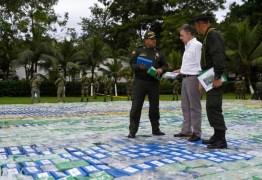 Colômbia anuncia a maior apreensão de cocaína de sua história -12 toneladas -VEJA VÍDEO