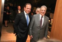 'FHC é o único presidente de quem brasileiros têm orgulho', diz Doria