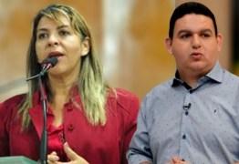 'VELHACA E XEXEIRA': Eliza Virgínia e Fabiano Gomes brigam no ar e deputada diz que 'dever não é crime'
