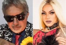 """Falcão critica voz de Pabllo Vittar: """"Canta pior do que eu""""; CONFIRA"""