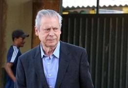 Cassado, Dirceu vai receber da Câmara aposentadoria de R$ 9,6 mil