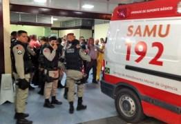 Troca de tiros em praça deixa dois feridos na capital