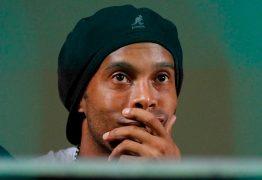 Ronaldinho Gaúcho tem R$ 24,63 na conta e 'robusta dívida' em impostos