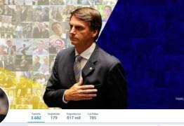 Twitter é a rede social dos 'esquerdopatas', diz Bolsonaro