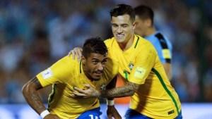 x65928673 football socceruruguay v brazilworld cup 2018 qualifierscentenario stadium mon.jpg.pagespeed.ic .K1FuG4kLUM 300x169 - Paulinho é mais um a pedir Coutinho no Barcelona: 'Quero que ele venha, seria ótimo'