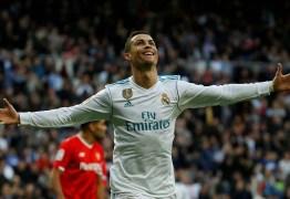Cristiano Ronaldo é o primeiro jogador a ultrapassar 100 gols por um time na Champions
