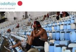 Campeão no Maracanã, Independiente faz piada com o Flamengo na web: 'Talvez devessem ter dormido mais cedo'