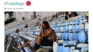 xindependiente.JPG.pagespeed.ic .mC1SX5w1Jc 300x169 - Campeão no Maracanã, Independiente faz piada com o Flamengo na web: 'Talvez devessem ter dormido mais cedo'