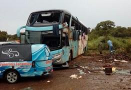 Sete pessoas morrem em acidente de ônibus no Tocantis