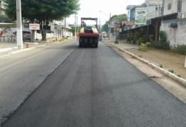 DER intensifica obras de restauração da rodovia ligando BR-101 a Jacumã
