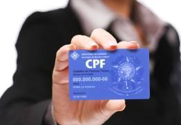 AGORA PODE: Órgãos federais aceitam CPF como documento de identificação