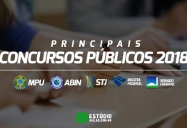 Concursos públicos abrem 162 mil vagas em todo o Brasil; o dobro de 2017