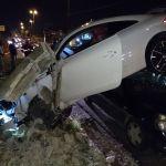 acidente av beira rio - Após causar grave acidente na avenida beira-rio motorista é acusado de dirigir sob efeito de álcool
