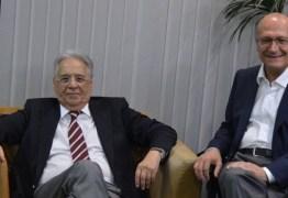 FHC afirma que Alckmin não descarta apoio do PT caso chegue ao segundo turno