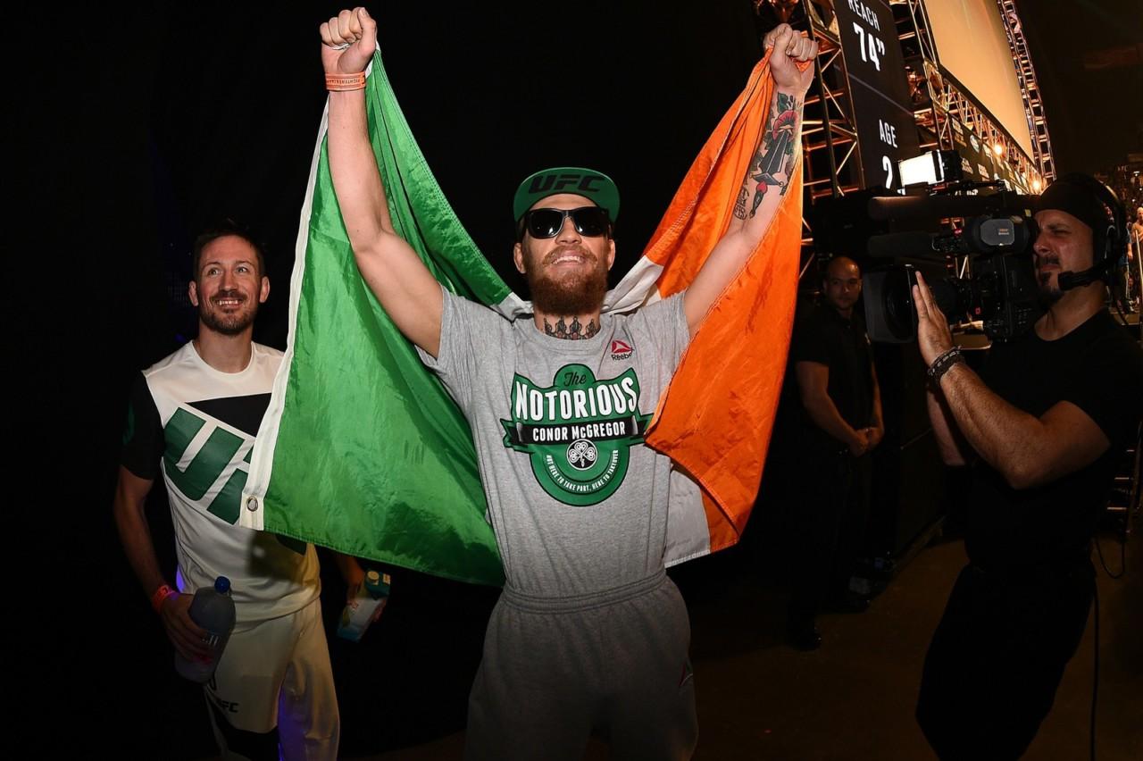 conor mcgregor mma - Conor McGregor paga fiança após ser preso nos Estados Unidos