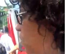 'NÃO ESTAMOS AQUI PARA FAZER OCUPAÇÃO', dispara Estela Bezerra sobre manifestação pró-Lula
