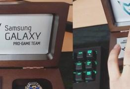 Samsung presenteia equipe campeã mundial de LoL com anéis comemorativos