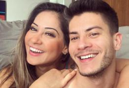 VEJA VÍDEO: Após casamento, Arthur Aguiar 'foge' de Mayra Cardi: 'Filho surpresa não'