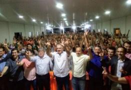João Azevedo se reúne com políticos e militantes durante encontro em Princesa Isabel