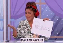 Silvio Santos expulsa Mara Maravilha de gravação do Jogo dos Pontinhos