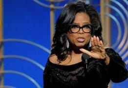 VEJA O VÍDEO: Oprah Winfrey faz discurso inspirado contra assédio e racismo no 'Globo de Ouro'