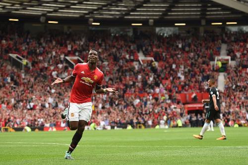pogba manchester united - Manchester United enfrenta lanterna do Campeonato Inglês e acaba com jejum de vitórias