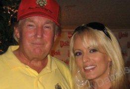 Atriz pornô aumenta mistério sobre suposto caso com Trump