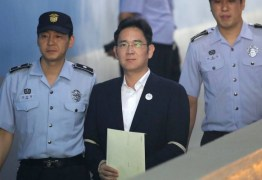Herdeiro da Samsung deixa prisão após redução de pena