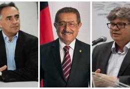 Luciano, João e Maranhão: Veja quem lidera nova enquete de pretensão de voto para governador do estado