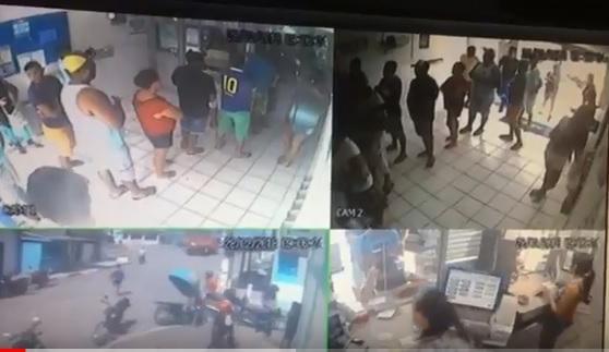 1519849584487 assalto casaloterica - VEJA VÍDEO: Clientes de lotérica são humilhados e hostilizados durante assalto na Paraíba