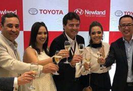 Empresário Luiz Teixeira de Carvalho inaugura nova loja Newland da Toyota em João Pessoa, em grande noite  – VEJA FOTOS