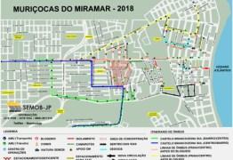 FOLIA DE RUA: Muriçocas do Miramar modifica trânsito em João Pessoa