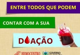 CONFIRA PROGRAMAÇÃO ESPECIAL: Hemocentro convoca população para reforçar estoques antes do carnaval