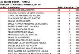 Nome de prefeito aparece em lista de concurso para recepcionista da própria prefeitura, na PB