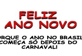 Terminou o carnaval, então, feliz ano novo, pois, só agora o Brasil cairá na folia real! –  Por Rui Galdino Filho