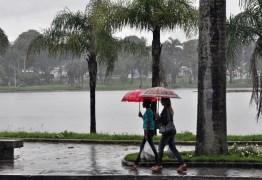 Alertas de perigo potencial de chuvas para 164 cidades da Paraíba são emitidos pelo Inmet