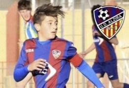 Jogador de 15 anos sofre mal súbito e acaba morrendo