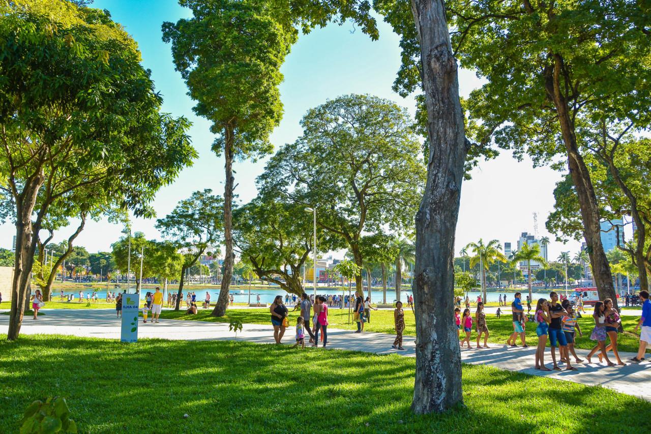 Parque Lagoa Rafael Passos - Parque da Lagoa recebe apresentação teatral neste domingo