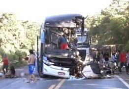 LAUDO CONFIRMA: ônibus da Guanabara que saiu da PB invadiu contramão e causou acidente com 9 mortos