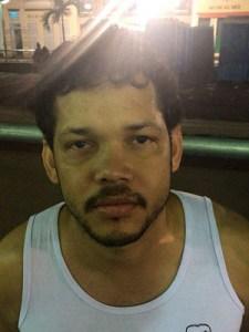 agressor 225x300 - Homem é preso em flagrante por agredir mulher no carnaval