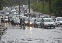 Inmet alerta para 'perigo potencial' de chuvas em todo o território da PB