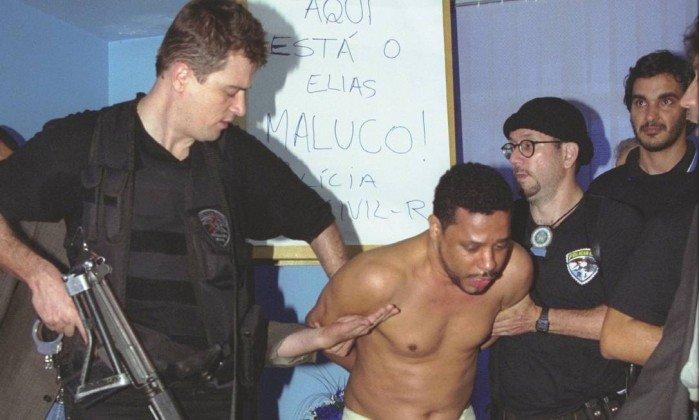 elias maluco - Mandado coletivo foi usado para prender Elias Maluco em 2002