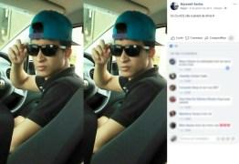 Filho de vereador é levado para delegacia por dirigir sem CNH e passa mal